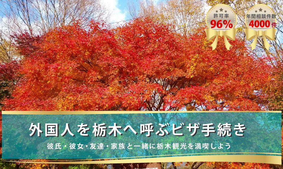 外国人を栃木へ呼ぶビザ手続き